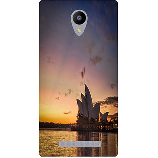 Amagav Printed Back Case Cover for Lyf Flame 5 110LfyFlame5