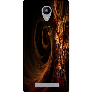 Amagav Printed Back Case Cover for Lyf Flame 5 138LfyFlame5