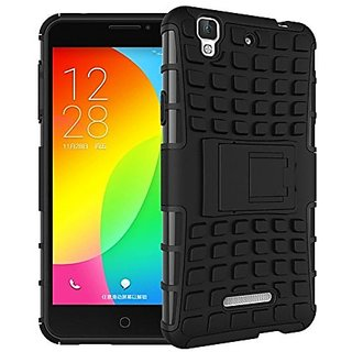 Outre Defender Heavy Duty Double layer Armor Back Case Cover For YU Yureka F2