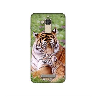Casotec Tiger Design 3D Printed Hard Back Case Cover for Asus Zenfone 3 Max ZC520TL