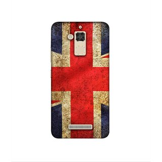 Casotec UK Flag Design 3D Printed Hard Back Case Cover for Asus Zenfone 3 Max ZC520TL