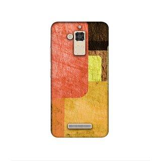 Casotec Vintage Colorfull Pattern Design 3D Printed Hard Back Case Cover for Asus Zenfone 3 Max ZC520TL