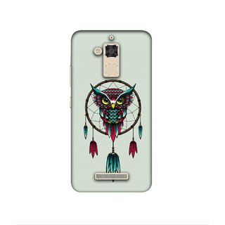 Casotec Owl Bird Dream Catcher Pattern Design 3D Printed Hard Back Case Cover for Asus Zenfone 3 Max ZC520TL