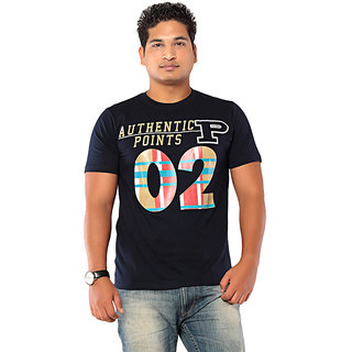 Ebry Navy O2 Cotton T-Shirt