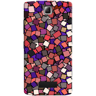 ColourCrust Pattern Style Printed Designer Back Cover For Lenovo A2010 Mobile Phone - Matte Finish Hard Plastic Slim Case