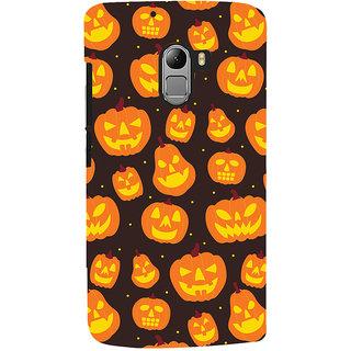 ColourCrust Halloween Pattern Style Printed Designer Back Cover For Lenovo K4 Note Mobile Phone - Matte Finish Hard Plastic Slim Case