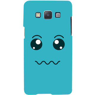 ColourCrust Smiley Expressions Style Printed Designer Back Cover For Samsung Galaxy A5 (2015) Mobile Phone - Matte Finish Hard Plastic Slim Case