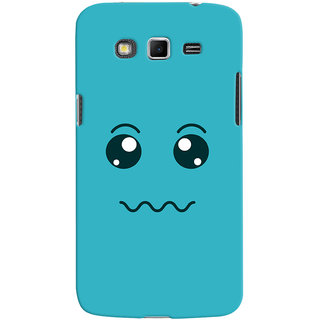ColourCrust Smiley Expressions Style Printed Designer Back Cover For Samsung Galaxy Grand 2 G7106 Mobile Phone - Matte Finish Hard Plastic Slim Case
