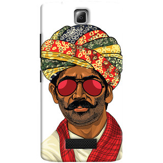 ColourCrust Desi Swag Quirky Printed Designer Back Cover For Lenovo A2010 Mobile Phone - Matte Finish Hard Plastic Slim Case