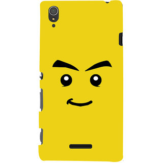 ColourCrust Sarcastic Smiley Quirky Printed Designer Back Cover For Sony Xperia T3 Mobile Phone - Matte Finish Hard Plastic Slim Case