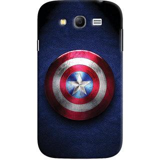 ColourCrust Captain America Printed Designer Back Cover For Samsung Galaxy Grand Neo Plus Mobile Phone - Matte Finish Hard Plastic Slim Case