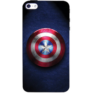 ColourCrust Captain America Printed Designer Back Cover For  4 Mobile Phone - Matte Finish Hard Plastic Slim Case
