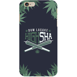 ColourCrust Dum Laga Ke Highsha Quirky Printed Designer Back Cover For Apple iPhone 6 Plus Mobile Phone - Matte Finish Hard Plastic Slim Case