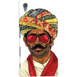 ColourCrust Desi Swag Quirky Printed Designer Back Cover For Sony Xperia Z5 Mobile Phone - Matte Finish Hard Plastic Slim Case