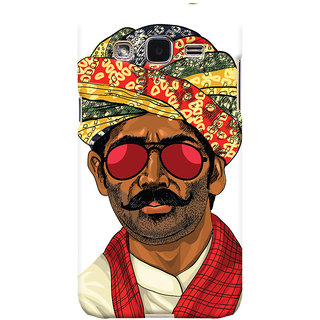 ColourCrust Desi Swag Quirky Printed Designer Back Cover For Samsung Galaxy J2 Mobile Phone - Matte Finish Hard Plastic Slim Case