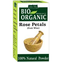 Indus Valley BIO Organic Natural Rose Petals Powder