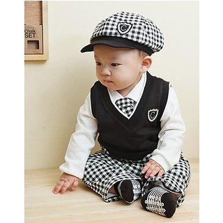 b73932e5ec28 5 piece long-sleeve Children s Clothing Sets baby boy Prices in ...