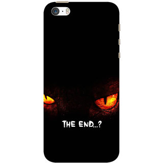 Ifasho Apple iPhone 5 Printed Back Cover