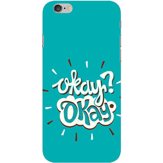 Ifasho Apple iPhone 6 Plus Printed Back Cover