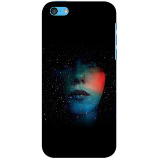 Ifasho Apple iPhone 5C Printed Back Cover