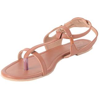 Estatos Brown,Black,Blue Coloured Leather Open Toe Flat Sandals