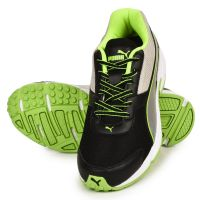 PUMA ADAMO Running Sports Shoes ( Black  Green)