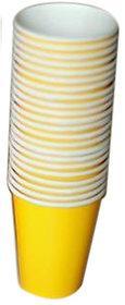 Yellow Paper Cup.