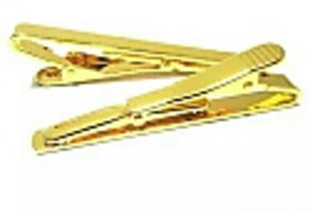 Fashion Metal Silver Gold Simple Necktie Tie Bar Clasp Clip Clamp Pin for men gift 9F4I