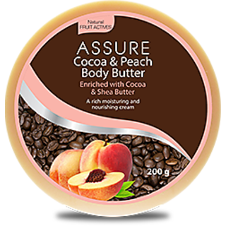 Assure Cocoa  Peach Body Butter