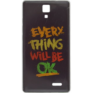 timeless design a1900 b929e eloMo Back Cover Case for Micromax Canvas 5 Lite Q463