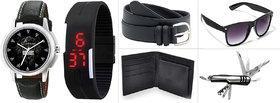 Jack Klein Black PU Belt For Mens