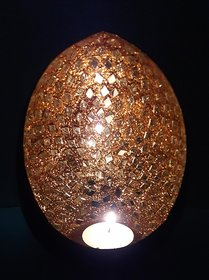 Inlay T Light Candle Holder