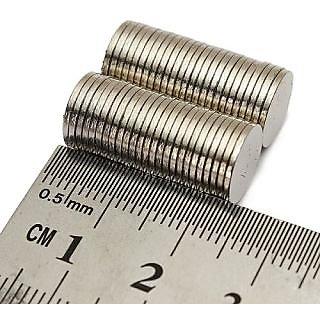 20 Pieces of 10mm x 2mm neodymium round magnet N52