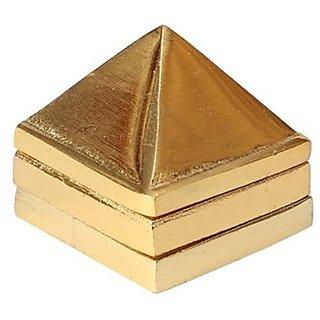 Gold Plated Metal 81 Vastu Pyramid Yantra