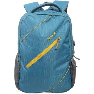 Buy Space Polyester 35 liters Blue Laptop Backpack Online   ₹1245 ... 644713573d00d