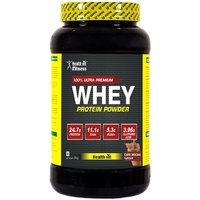 Healthvit 100%Ultra Premium Whey Protein - 2kg/4.4lbs (