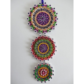 buy long tail wall hanging quilling paper designs online u20b9450 rh shopclues com quilling wall hanging tutorial quilling wall hanging price