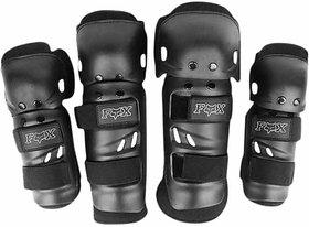 Biking Elbow  Knee Guard- Set of 4 Pcs-FOX RIDING GEAR