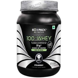 Six Pack Nutrtion - 100 Whey-1Kg-Choco Caramel