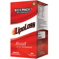 Six Pack Nutrtion - Lipoloss- 90 Capsules-Unflavoured