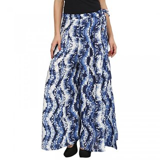 Famous by Payal Kapoor blue trouser