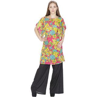 Multicolored cotton tunic