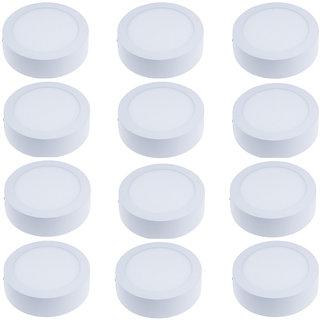 Galaxy 6 Watt round white pack of 12
