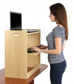 ZEN Stand Standing Desk  - An ergonomic height adjustable standing desk for healthy lifestyle