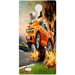 Amagav Back Case Cover for Lava A88 85LavaA88