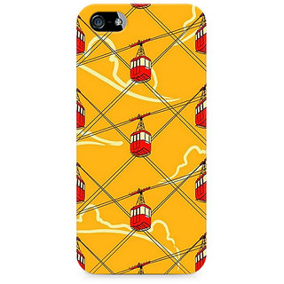 CopyCatz Cable Car Fusion Premium Printed Case For Apple iPhone 4/4s