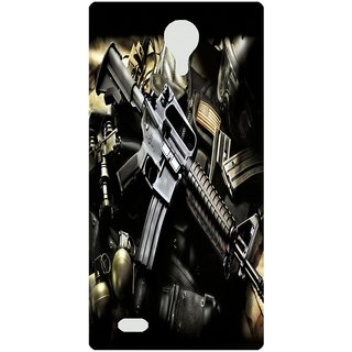 Amagav Back Case Cover for Lava A89 47LavaA89