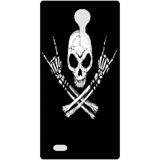 Amagav Back Case Cover for Lava A88 581LavaA88