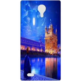 Amagav Back Case Cover for Lava A89 65LavaA89