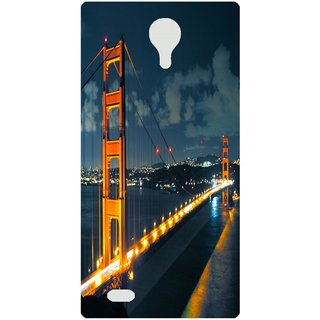 Amagav Back Case Cover for Lava A71 278LavaA71